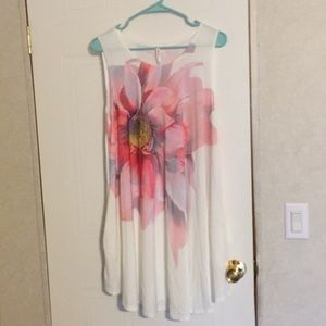 Never worn 42 pops plus size dress